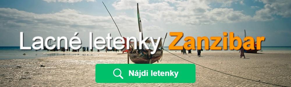 Lacné letenky Zanzibar